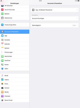 Apple iPad Pro 12.9 inch - iOS 11 - Anmeldedaten hinzufügen/entfernen - 4 / 12
