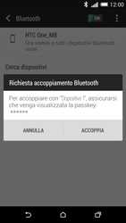 HTC One M8 - Bluetooth - Collegamento dei dispositivi - Fase 7