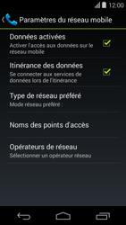 Acer Liquid E600 - Internet - désactivation du roaming de données - Étape 6
