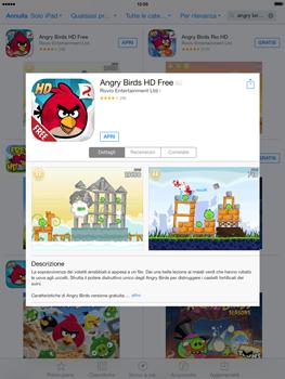 Apple iPad Retina iOS 7 - Applicazioni - Installazione delle applicazioni - Fase 15