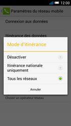 Alcatel Pop C7 - Internet et roaming de données - Désactivation du roaming de données - Étape 7