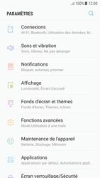 Samsung Galaxy A5 (2016) - Android Nougat - Internet et roaming de données - Comment vérifier que la connexion des données est activée - Étape 4