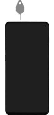 Samsung Galaxy S10 - Premiers pas - Insérer la carte SIM - Étape 2