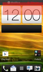 HTC One SV - Operazioni iniziali - Installazione di widget e applicazioni nella schermata iniziale - Fase 6
