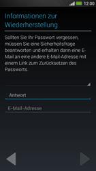 HTC One - Apps - Konto anlegen und einrichten - 14 / 25