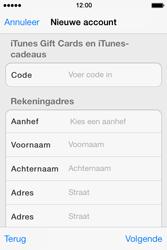 Apple iPhone 4 S - iOS 7 - apps - account instellen - stap 20