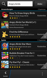 BlackBerry Z10 - Apps - Herunterladen - 16 / 21