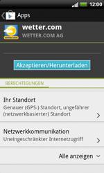 HTC Sensation XL - Apps - Herunterladen - 14 / 22