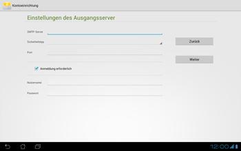 Asus Padfone - E-Mail - Konto einrichten - Schritt 15
