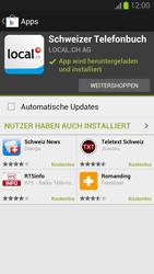 Samsung Galaxy S III - Apps - Installieren von Apps - Schritt 9