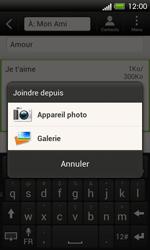 HTC C525u One SV - MMS - envoi d'images - Étape 13
