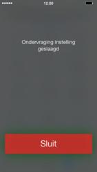 Apple iPhone 5c - Voicemail - Handmatig instellen - Stap 5