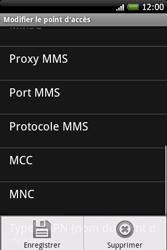 HTC A6262 Hero - MMS - Configuration manuelle - Étape 12
