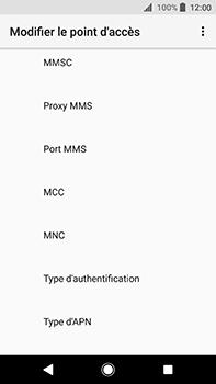 Sony Xperia XA2 Ultra - MMS - Configuration manuelle - Étape 10