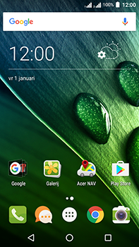 Acer Liquid Zest 4G Plus DualSim - Applicaties - Download apps - Stap 1