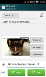 Huawei Y3 - MMS - Afbeeldingen verzenden - Stap 16