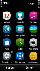 Nokia 500 - SMS - configuration manuelle - Étape 3