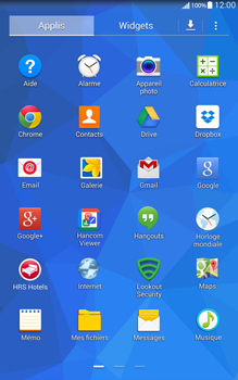 Samsung T335 Galaxy Tab 4 8-0 - SMS - Configuration manuelle - Étape 3