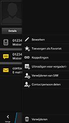BlackBerry Z30 - contacten, foto