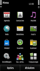 Nokia E7-00 - MMS - afbeeldingen verzenden - Stap 2