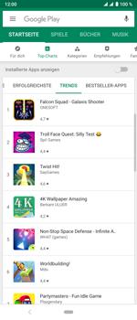 Sony Xperia 10 Plus - Apps - Herunterladen - Schritt 9