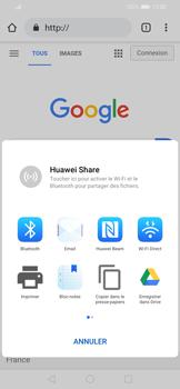 Huawei P Smart 2020 - Internet et connexion - Naviguer sur internet - Étape 21