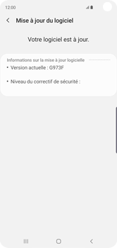 Samsung Galaxy S10 - Logiciels - Installation de mises à jour - Étape 8