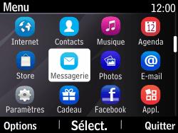 Nokia Asha 210 - Messagerie vocale - Configuration manuelle - Étape 3