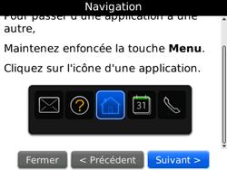 BlackBerry 8520 - Premiers pas - Créer un compte - Étape 14