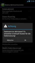Alcatel One Touch Idol - Internet und Datenroaming - manuelle Konfiguration - Schritt 7