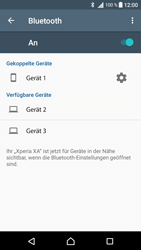 Sony Xperia XA - Bluetooth - Verbinden von Geräten - Schritt 8