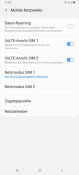 Samsung Galaxy A80 - Netzwerk - So aktivieren Sie eine 4G-Verbindung - Schritt 8