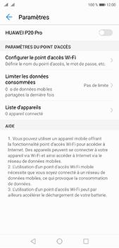 Huawei P20 pro - Internet et connexion - Partager votre connexion en Wi-Fi - Étape 6