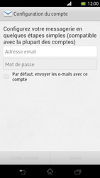 Sony Xperia T - E-mail - Configuration manuelle - Étape 5