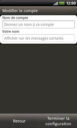 HTC S510b Rhyme - E-mail - Configuration manuelle - Étape 15