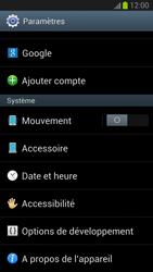 Samsung Galaxy S III - Logiciels - Installation de mises à jour - Étape 5