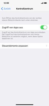 Apple iPhone X - iOS 11 - Kontrollzentrum - 4 / 8