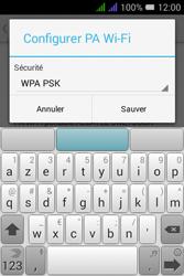 Alcatel Pixi 3 Dual Sim - Internet et connexion - Partager votre connexion en Wi-Fi - Étape 9