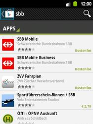 Samsung Galaxy Y - Apps - Installieren von Apps - Schritt 20