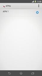 Sony Xperia Z1 - Internet - Manuelle Konfiguration - Schritt 9