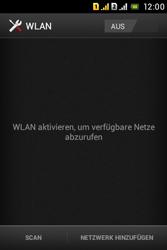 Sony Xperia Tipo Dual - WLAN - Manuelle Konfiguration - Schritt 5