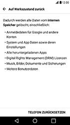 LG X Power - Fehlerbehebung - Handy zurücksetzen - Schritt 8