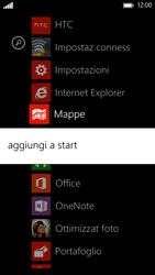 HTC Windows Phone 8X - Operazioni iniziali - Personalizzazione della schermata iniziale - Fase 4