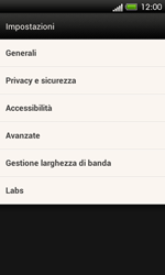 HTC One SV - Internet e roaming dati - Configurazione manuale - Fase 21