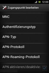 Sony Xperia Miro - MMS - Manuelle Konfiguration - Schritt 13
