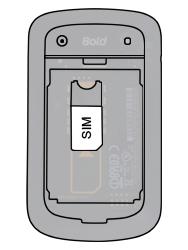 BlackBerry 9900 Bold Touch - SIM-Karte - Einlegen - Schritt 3