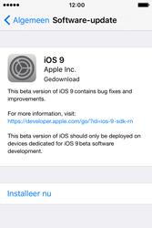 Apple iPhone 4S (iOS 9) - software - update installeren zonder pc - stap 5