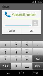 Acer Liquid E600 - Voicemail - Manual configuration - Step 9
