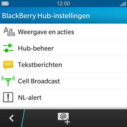 BlackBerry Q5 - SMS en MMS - Handmatig instellen - Stap 5
