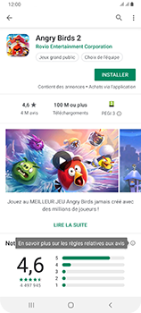Samsung Galaxy A80 - Applications - Installation d